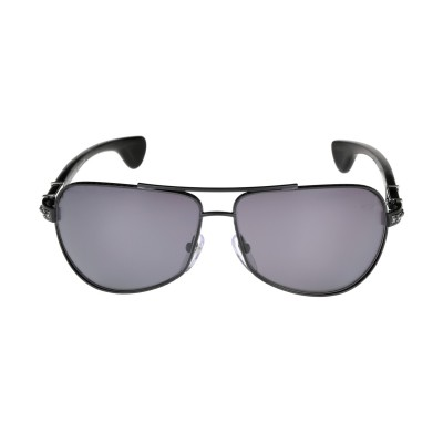 Chrome Hearts lunette grand beast ii matte black Sunglasses