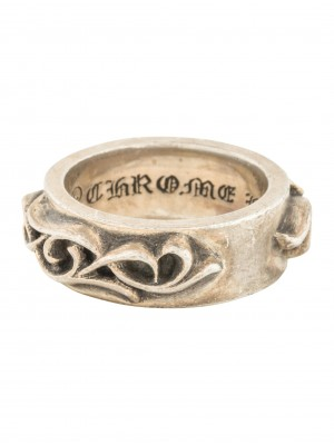 c357cdebb8f Chrome Hearts Vine Band Men s Sterling Silver Ring (Size  10) ...