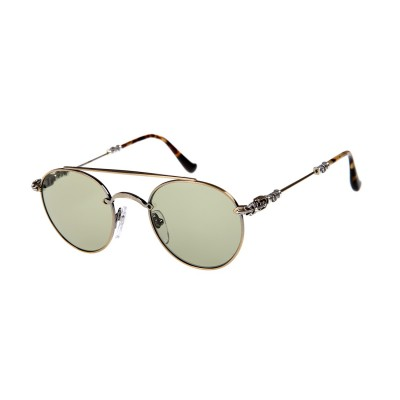 dacc2a29eeb8 Chrome Hearts lunette bubba antique gold Sunglasses Chrome Hearts lunette  bubba antique gold Sunglasses