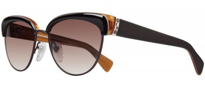 Chrome Hearts Don't call me alice Coco Honey/Chocolate Brown Lens sunglasses