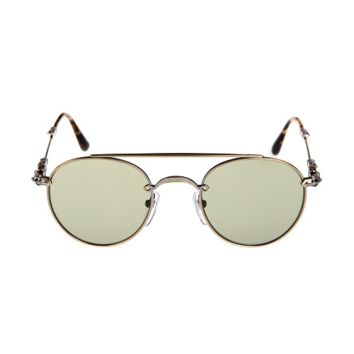2da1a1342cff Chrome Hearts lunette bubba antique gold Sunglasses - Chrome Hearts Online  Store