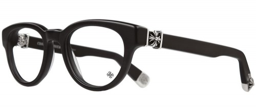 867346141992 Chrome Hearts Kay Gulls Matte Black glasses - Chrome Hearts Online Store