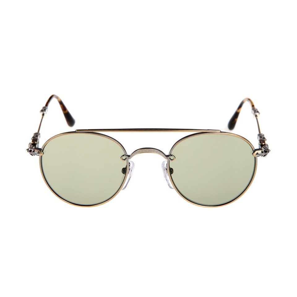 Chrome Hearts lunette bubba antique gold Sunglasses - Chrome Hearts ...