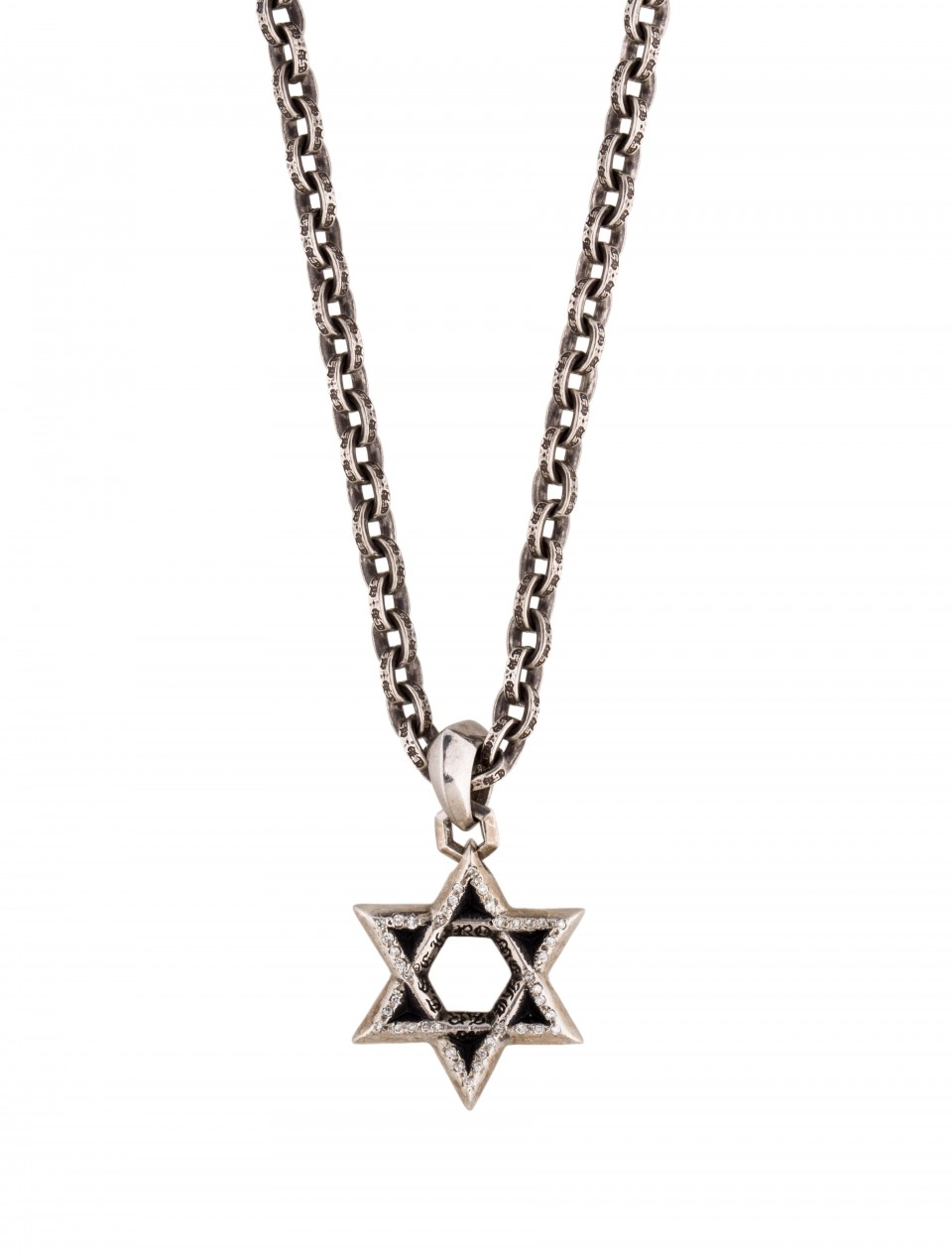 magen pendant rope david of stainless gq necklace o anniyo steel israel star jewish men jewelry a with women bestledlights chain